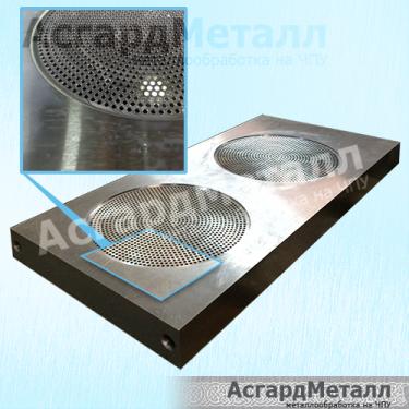 Шибер гранулятора - производство на ЧПУ
